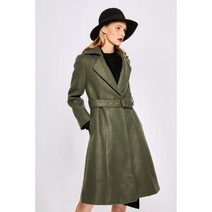 New Look Belted Coat OU0720