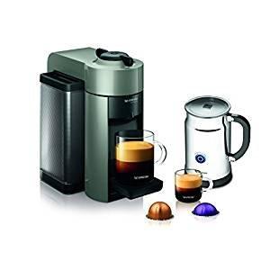 $93.74Nespresso A+GCC1-US-GR-NE VertuoLine Evoluo Coffee & Espresso Maker with Aeroccino Plus Milk Frother
