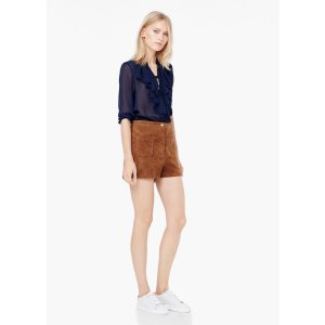 Suede shorts - Woman | OUTLET USA