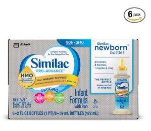 $34.22Similac Pro-Advance 婴儿配方液体奶-48瓶