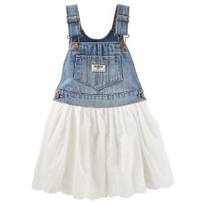Toddler Girl Eyelet Jumper | OshKosh.com