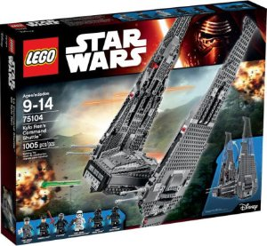 $83.97 LEGO® Star Wars Kylo Ren's Command Shuttle 75104