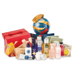 Buy 3 Get 1 Free + 17pc Gift @ L'Occitane
