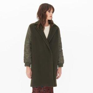 Lazarus Coat 军绿色羊毛大衣