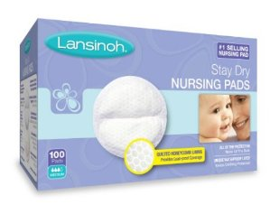 $8.99 Lansinoh Stay Dry Disposable Nursing Pads, 100 Count