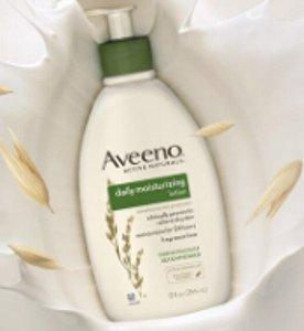 $5.59 Aveeno Active Naturals Daily Moisturizing Lotion, 18 Ounce