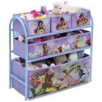 $14.99Disney Fairies Metal Multi-Bin Toy Organizer, Lavender