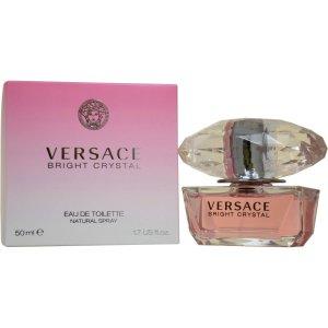 Versace Bright Crystal for Women Eau de Toilette Natural Spray, 1.7 fl oz - Walmart.com