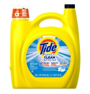 Tide Simply Clean & Fresh Liquid Laundry Detergent, Refreshing Breeze, 138 Oz, 89 Loads