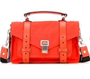 Last Week! $490.5 Proenza Schouler Tiny 'PS1' Satchel