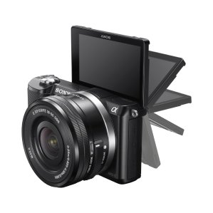 Sony a5000 Mirrorless Digital Camera with 16-50mm OSS Lens