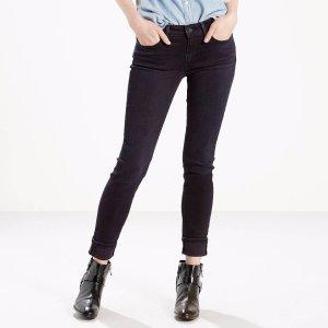 711 Skinny Jeans | Black Coal |Levi's® United States (US)