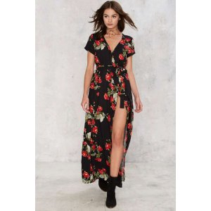 Nasty Gal Find Your Swing Maxi Dress