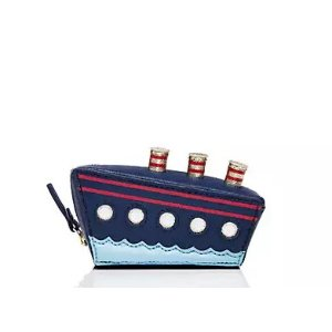 expand your horizons cruise ship coin purse | Kate Spade New York