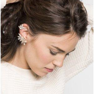 Asymmetrical Tinkerbell Ear Cuf