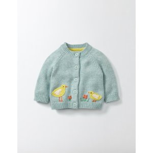 Farmyard Crochet Cardigan 78175 Knitted Cardigans at Boden