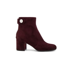 Gianvito Rossi Suede Boots in Royale | FWRD