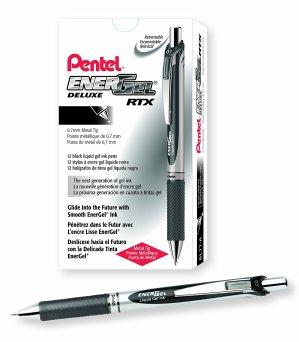 $5.60(原价$12.28)Pentel EnerGel Deluxe 0.7mm 圆珠笔 12支套装