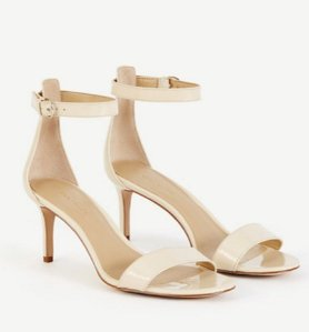 Kaelyn Patent Strappy Sandals  @ Ann Taylor