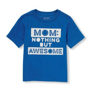 Toddler Boys Short Sleeve 'Mom: Nothing But Awesome' Graphic Tee | The Children's Place
