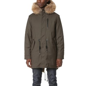 Mackage Moritz Fur Lined Fishtail Parka | EAST DANE | Use Code: MAINEVENT16 for Up to 30% Off