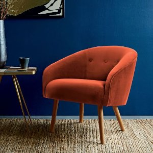 Eve Buttoned Chair | west elm