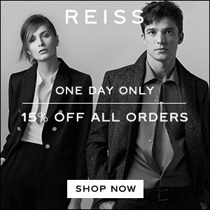 15% Off Sitewide @ Reiss Dealmoon Singles Day Exclusive