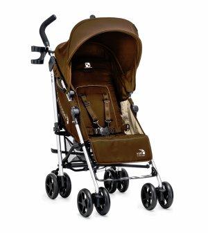 $79.99(原价$199.99)超低价!Baby Jogger Vue 轻便可双向伞车,棕色
