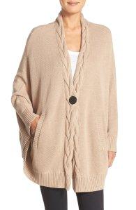 $63.98 UGG® 'Anjeline' Knit Cape @ Nordstrom