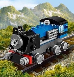 $4.93LEGO Creator Blue Express 31054 Building Kit