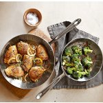 All-Clad d5 Stainless-Steel French Skillets, Set of 2