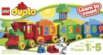 $14.99 LEGO DUPLO My First Number Train Building Set 10558