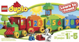 LEGO DUPLO My First Number Train Building Set 10558