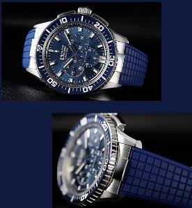 Zenith Men's El Primero Stratos Flyback Watch 03-2067-405-51-R514