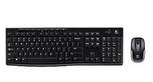 Logitech MK270 Full-Size Wireless Keyboard and Compact Mouse Combo (920-004536)