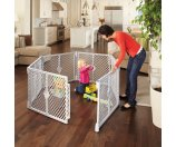 North States Portable Playard and Extension Kit Value Bundle - Walmart.com