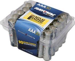 Rayovac - AAA Batteries (30-Pack)