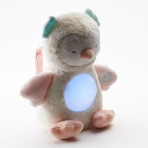 Carter's Plush Musical Glow Belly Owl