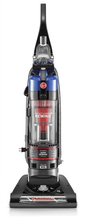 Hoover WindTunnel 2 Rewind Bagless Upright Vacuum, UH70825 - Corded