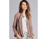 Free People Swing Sporty Coat Fawn - 6pm.com