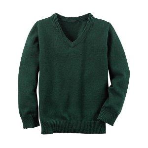 Long-Sleeve V-Neck Sweater | Carters.com