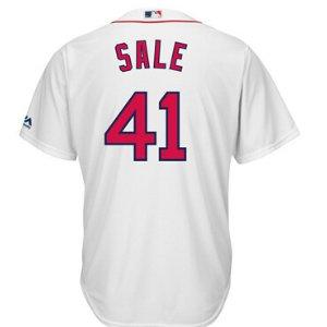 Boston Red Sox Chris Sales Majestic MLB Men's Player Replica CB Jersey