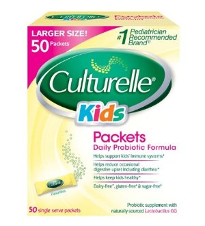 $22.49 Culturelle Probiotics for Kids Packets, 50 Count