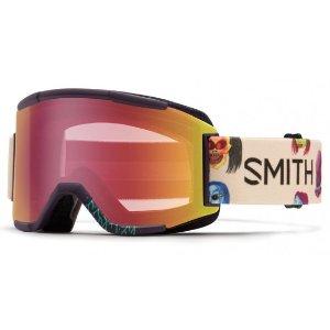 Smith Optics Squad Men's Snow Goggles Shadow Purple Creature Frame Red Sensor Lens | Focus Camera