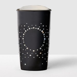 Double Wall Traveler adorned with Swarovski® crystals - Black | Starbucks® Store
