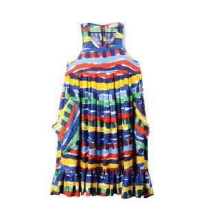 Island Festival Print Poco Dress