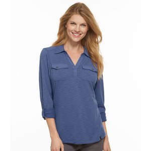 Women's Cherry Pond Henley   Now on sale at L.L.Bean