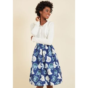 Gravity and Go A-Line Skirt
