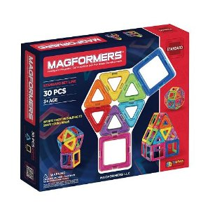 $32.29 + $5 KC Magformers 30-pc. Rainbow Set