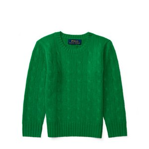 Cable-Knit Cashmere Sweater - Sweaters � Big Kid (sizes 8-20) - RalphLauren.com